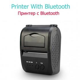 Zjiang Mini Portable Bluetooth Thermal Receipt Printer - 5809 - Black - 2