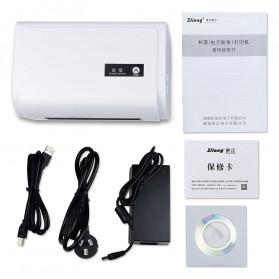 Zjiang POS Thermal Receipt Label Printer 110mm - ZJ-9200 - White - 6