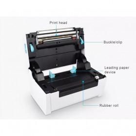 Zjiang POS Thermal Receipt Label Printer 110mm - ZJ-9200 - White - 8