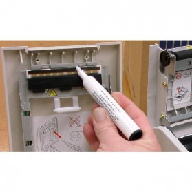Thermal Printer Cleaning Pen - White - 5