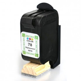 Replacement Printer Ink Cartridge HP H-78 Color Face - Multi-Color