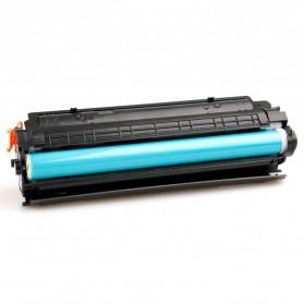 Replacement Printer Toner Cartridge HP 36A 436E Black Face - Black