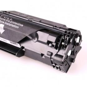 Replacement Printer Toner Cartridge HP 36A 436E Black Face - Black - 2