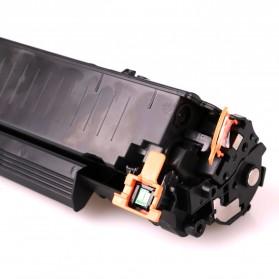 Replacement Printer Toner Cartridge HP 36A 436E Black Face - Black - 3