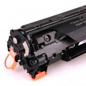 Replacement Printer Toner Cartridge HP 36A 436E Black Face - Black - 4