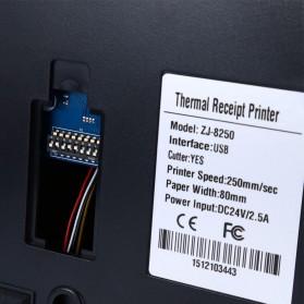 Printer POS Thermal Receipt Printer 80mm - 8250-II - Black - 7