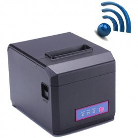 Thermal Receipt Printer with WiFi / LAN / USB Port - HS-E81ULW - Black
