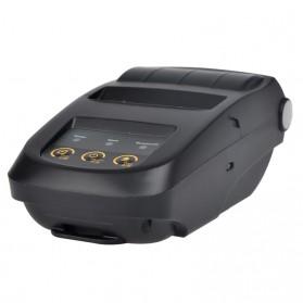 NYEAR Mini Portable Bluetooth Thermal Receipt Printer + Baterai 18650 - NP100 - Black - 2