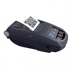 NYEAR Mini Portable Bluetooth Thermal Receipt Printer + Baterai 18650 - NP100 - Black - 3