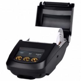 NYEAR Mini Portable Bluetooth Thermal Receipt Printer + Baterai 18650 - NP100 - Black - 4