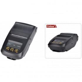 NYEAR Mini Portable Bluetooth Thermal Receipt Printer + Baterai 18650 - NP100 - Black - 6