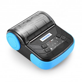 GOOJPRT Mini Portable Bluetooth Thermal Receipt Printer - MTP-3 - Black