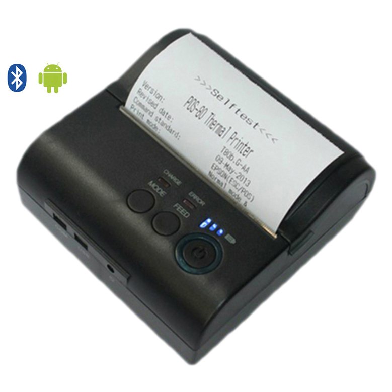 Mini Portable Bluetooth Android Thermal Receipt Printer