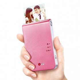 LG Printer Foto Warna Bluetooth 4.0 - DP239P - Pink
