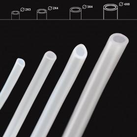 Selang Teflon PTFE Tube untuk J-Head 3D Printer Diameter 2 x 3 - 5M - White - 5