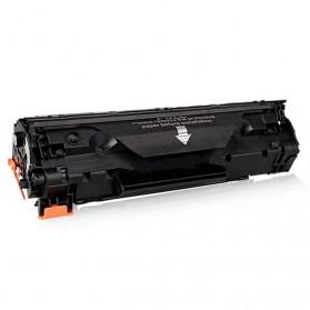 Replacement Printer Toner Cartridge Canon CRG 125 325 725 925 Black Face - Black