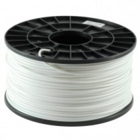 PLA 3.0mm Transparent 3D Printer Filaments - White