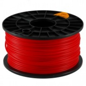 PLA 3.0mm Transparent 3D Printer Filaments - Red