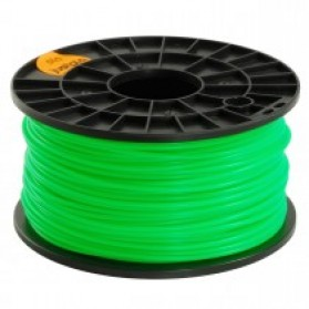 PLA 3.0mm Transparent 3D Printer Filaments - Green