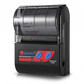 GOOJPRT POS Bluetooth Thermal Receipt Printer 58mm - MTP-II - Black - 2