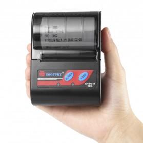 GOOJPRT POS Bluetooth Thermal Receipt Printer 58mm - MTP-II - Black - 4