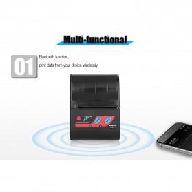 GOOJPRT POS Bluetooth Thermal Receipt Printer 58mm - MTP-II - Black - 6