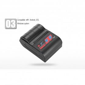 GOOJPRT POS Bluetooth Thermal Receipt Printer 58mm - MTP-II - Black - 7