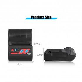 GOOJPRT POS Bluetooth Thermal Receipt Printer 58mm - MTP-II - Black - 10