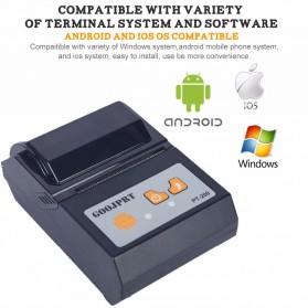 GOOJPRT POS Bluetooth Thermal Receipt Printer 58mm - JP-PT200 - Black - 6