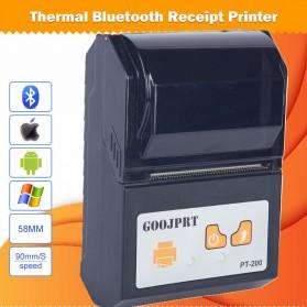 GOOJPRT POS Bluetooth Thermal Receipt Printer 58mm - JP-PT200 - Black - 8