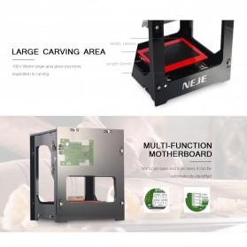 NEJE Laser Engraver Printer 1500mW - DK-8-KZ - Black - 3