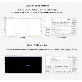 Master 2 Printer 3D Ukir Kayu Laser Engraving Machine Kit 3500mW - Black - 4