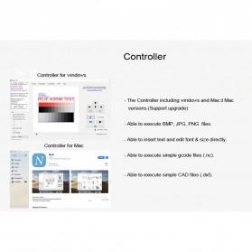 Master 2 Printer 3D Ukir Kayu Laser Engraving Machine Kit 3500mW - Black - 9