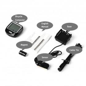 SUNDING Odometer Speedometer Monitor Sepeda - SD-568AE - Black - 5