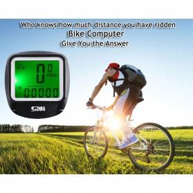 SUNDING Odometer Speedometer Monitor Sepeda - SD-568AE - Black - 6