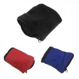 Tas Pergelangan Tangan Olahraga Sport Wrist Wallet Armband Bag - WKX00021 - Black - 5