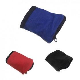 Tas Pergelangan Tangan Olahraga Sport Wrist Wallet Armband Bag - WKX00021 - Black - 6