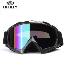 Kacamata Motor Motocross Ski Goggles Eye Protection Windproof - H013 - Orange - 2