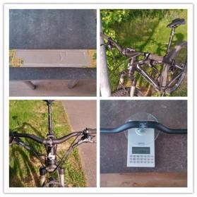 MTB Bicycle Handlebar Sepeda Carbon Fiber Glossy 640mm Model 001 - BXT-HB - Black - 5
