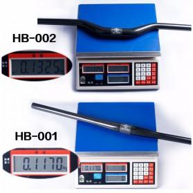 MTB Bicycle Handlebar Sepeda Carbon Fiber Glossy 680mm Model 001 - BXT-HB - Black - 4