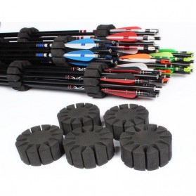 Holder Anak Panah Arrow Quiver Separator 12 Slot 6 PCS - 04FJJ02-6 - Black