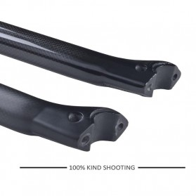 Tiang Dudukan Jok Sepeda Full Carbon Glossy Seatpost 400 x 31.6mm - SP-006 - Black - 4