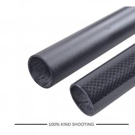 Tiang Dudukan Jok Sepeda Full Carbon Glossy Seatpost 350 x 31.6mm - SP-006 - Black - 3