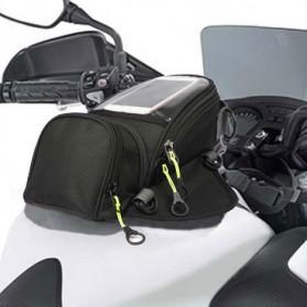 Tankbag Tas Motor Magnetic Hybrid dengan Holder Smartphone - 54648 - Black