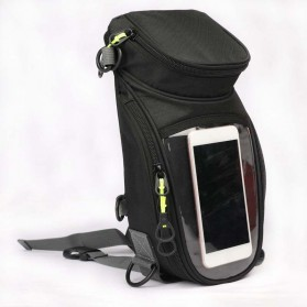Tankbag Tas Motor Magnetic Hybrid dengan Holder Smartphone - 54648 - Black - 3