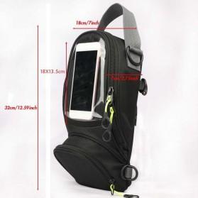 Tankbag Tas Motor Magnetic Hybrid dengan Holder Smartphone - 54648 - Black - 4