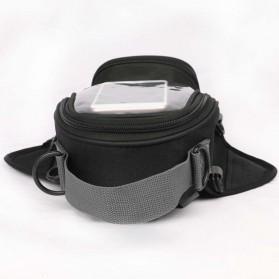 Tankbag Tas Motor Magnetic Hybrid dengan Holder Smartphone - 54648 - Black - 7