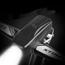 Lampu Alarm Klakson Sepeda Waterproof Anti Theft - SJ-10530 - Black - 3