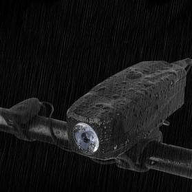 Lampu Alarm Klakson Sepeda Waterproof Anti Theft - SJ-10530 - Black - 4