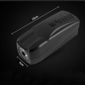 Lampu Alarm Klakson Sepeda Waterproof Anti Theft - SJ-10530 - Black - 6